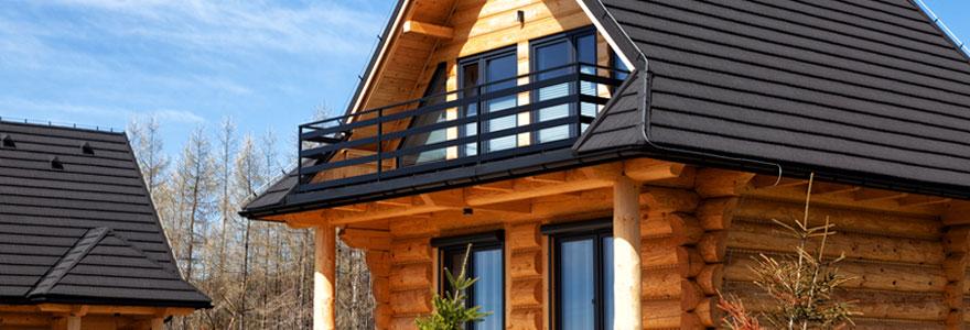 Maisons en bois bioclimatiques