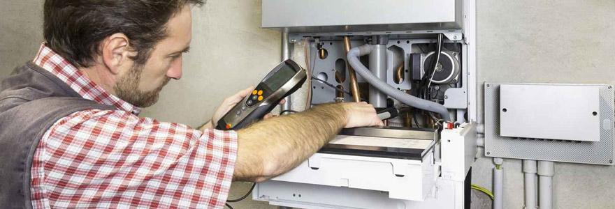 maintenance de chaudière à gaz