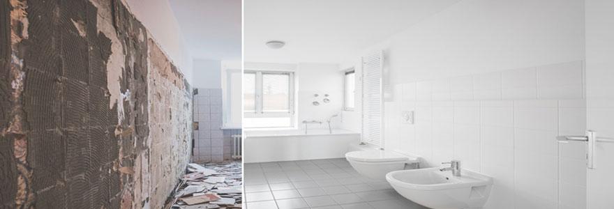Réaliser des travaux de rénovation de salle de bain en Belgique